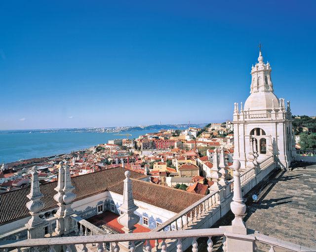 Portugal Lissabon uitzicht