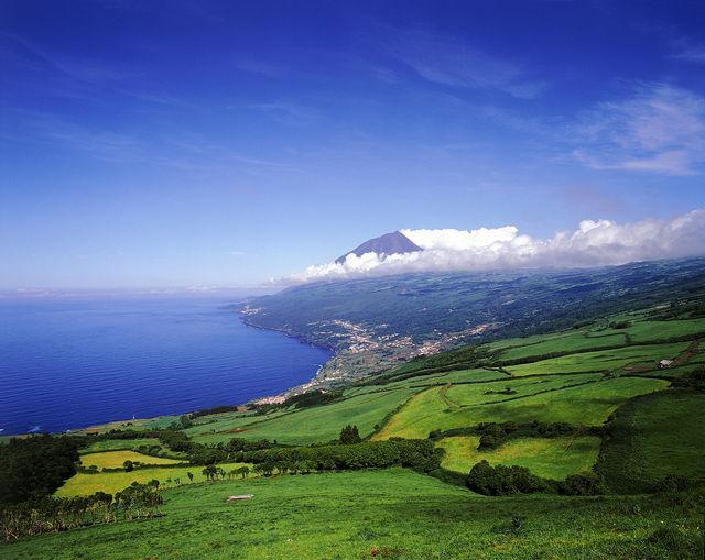 Kust Landschap Pico Azoren