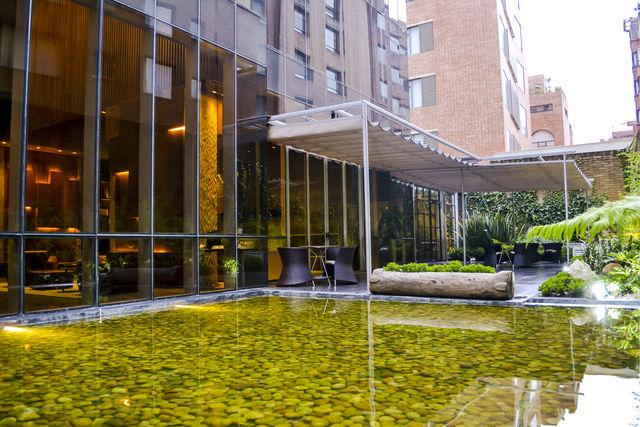 Rondreis Colombia Cundinamarca Bogota Bioxury hotel voorgevel