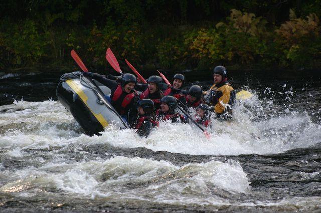 Raft rivier Tay Pitlochry
