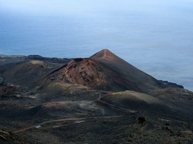 Vulkaan Teneguia Canarische Eilanden Tenerife