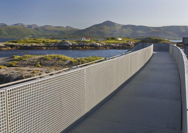The Atlantic Highway Møre og Romsdal Noorwegen