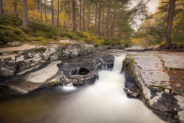 Cairngorms National park Breamar Schotland