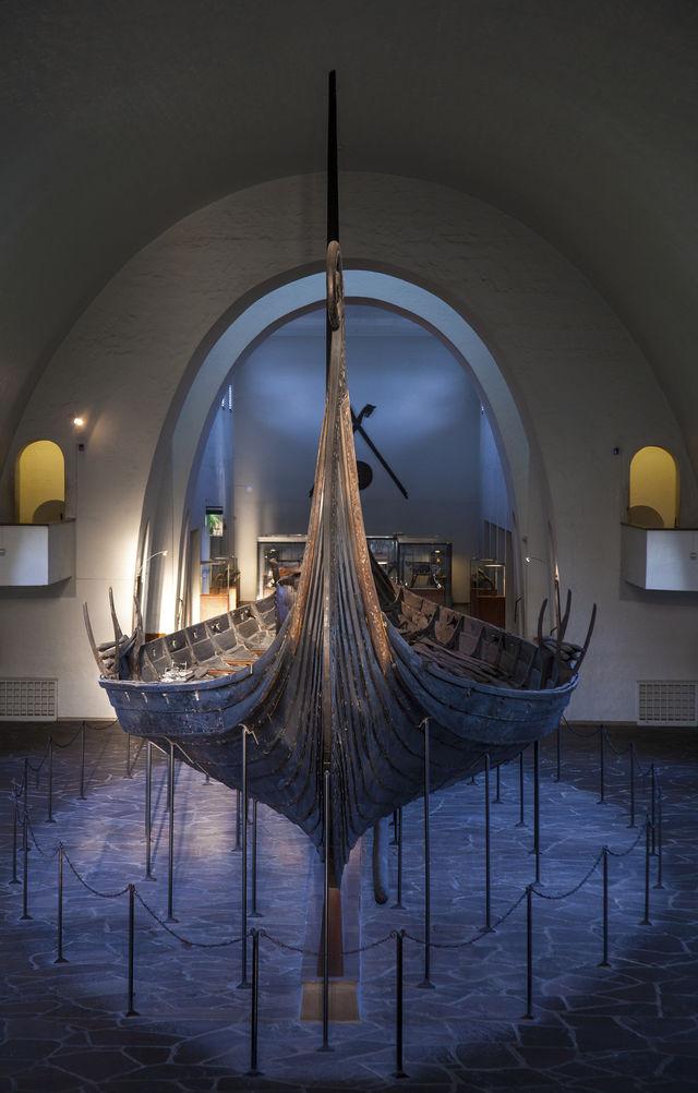 Oseberg Viking Ship Oslo Oslofjord Noorwegen