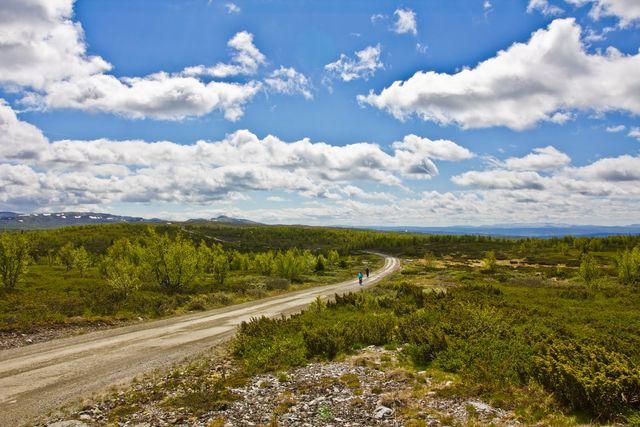 Peer Gynt Road Lillehammer Oppland Noorwegen