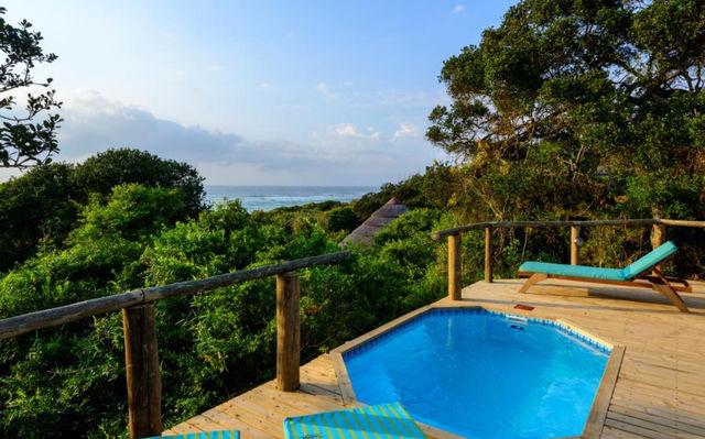 rondreis zuid-afrika Thonga Beach Lodge