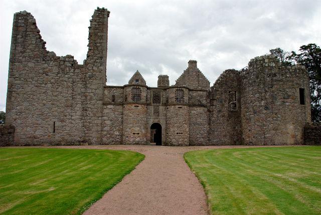 Kasteel Tolquhon castle Schotland