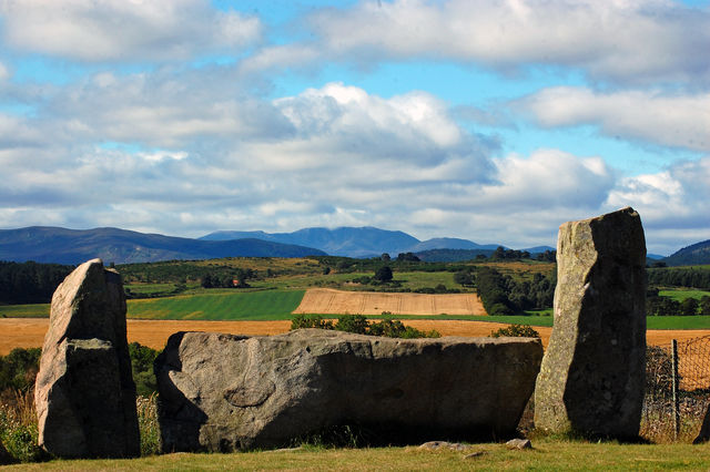 Tomnaverie Stone Circle Schotland