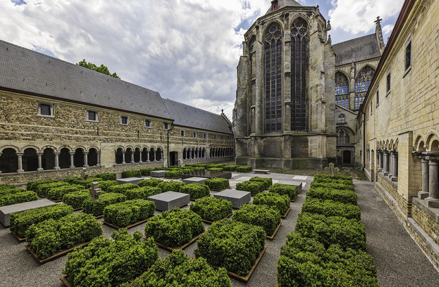 Teseum Kloostertuin Tongeren Limburg België