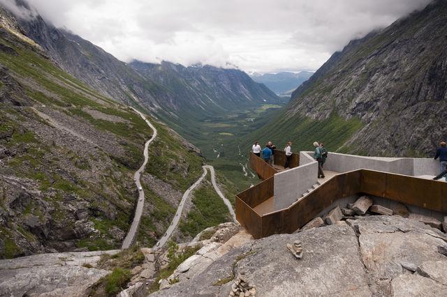 Trollstigen Sunnmøre Noorwegen