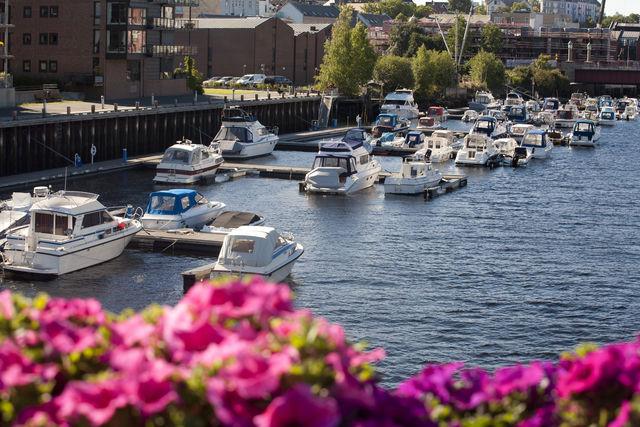 Haven Trondheim Trøndelag Noorwegen