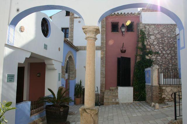 Hacienda Minerva Zuheros straat