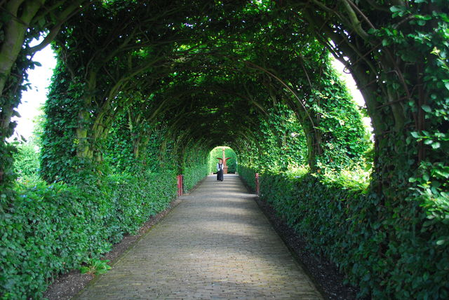 Tuinen Muiderslot Muiden, Noord-Holland, Nederland