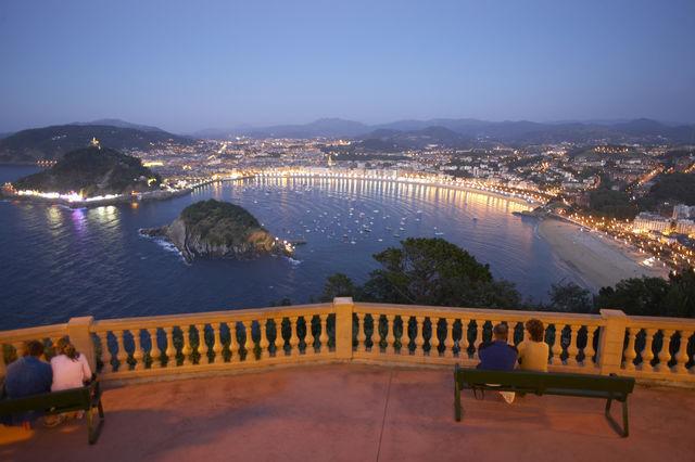 San Sebastian Donostia uitzicht Igueldo