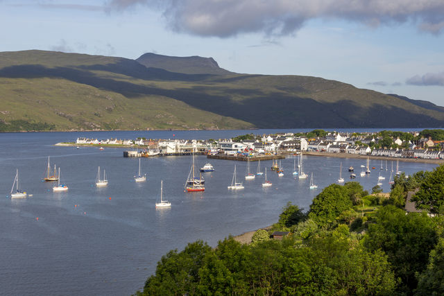 Haven Ullapool Schotland