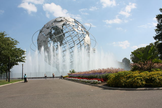 Flushing Meadows Corona Park Unisphere New York