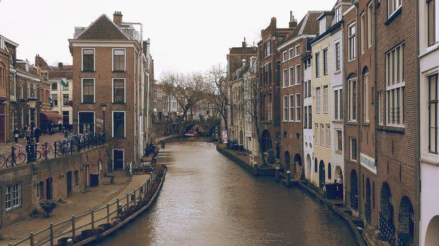 Kanaal Utrecht Utrecht Nederland