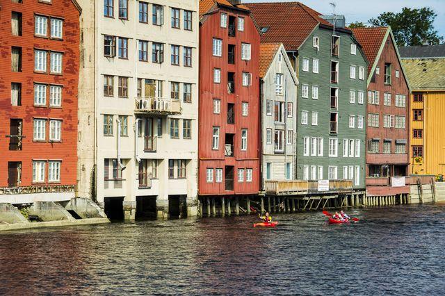 Trondheim Trøndelag Noorwegen