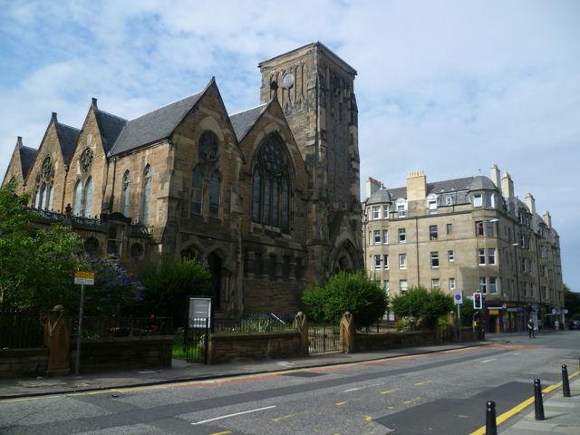 Kerk Viewforth church Edinburgh Schotland