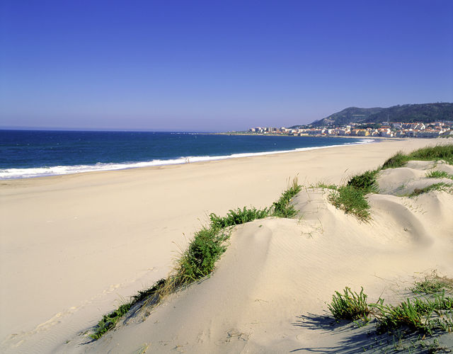 Strand Vila Praia de Ancora Noord-Portugal