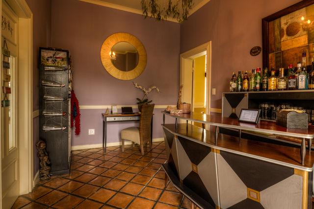 Rondreis Namibie Swakopmund Villa Margherita bar