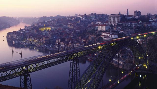 Ponte dom Luis Porto Portugal