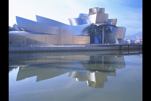Baskenland Bilbao Guggenheim museum Spanje