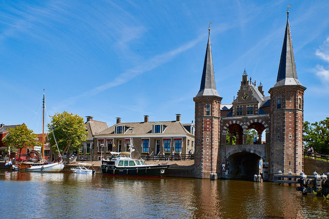Waterpoort Sneek Friesland