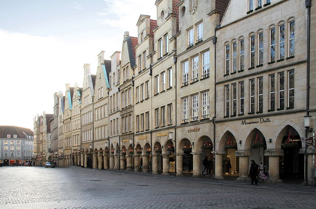 Winkelstraat Münster