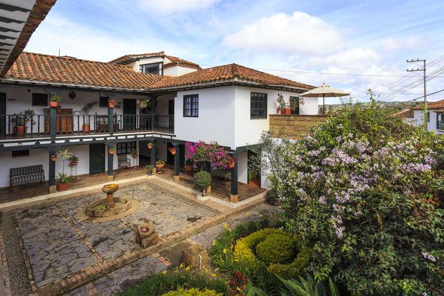 Rondreis Colombia Ricaurte Villa de Leyva Getsemani het gedeelte met de kamers