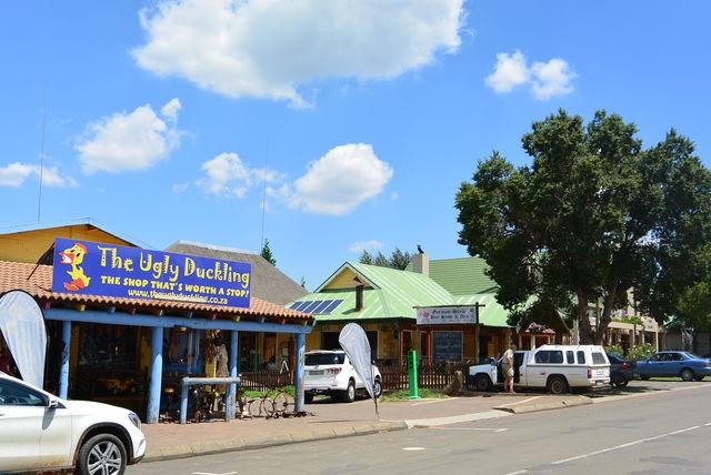 Rondreis Zuid-Afrika Clarens winkels