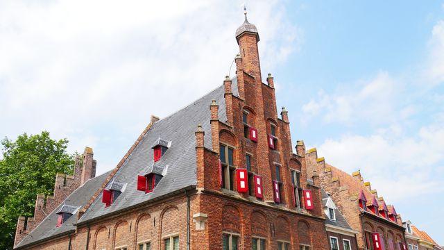 Gevel Zutphen Gelderland Nederland