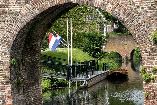 Gracht Zutphen Gelderland Nederland