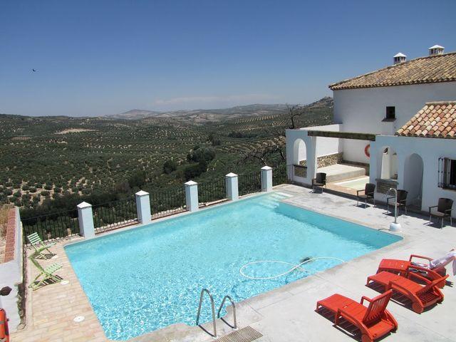 Hacienda Minerva Zuheros zwembad
