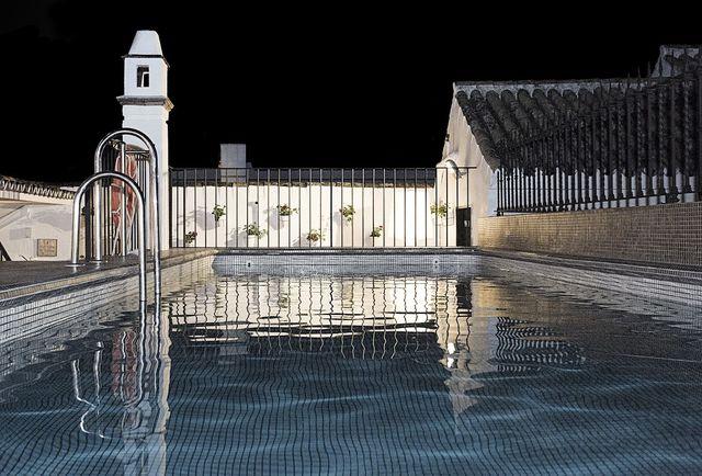 Las Casas del Rey de Baeza Sevilla zwembad