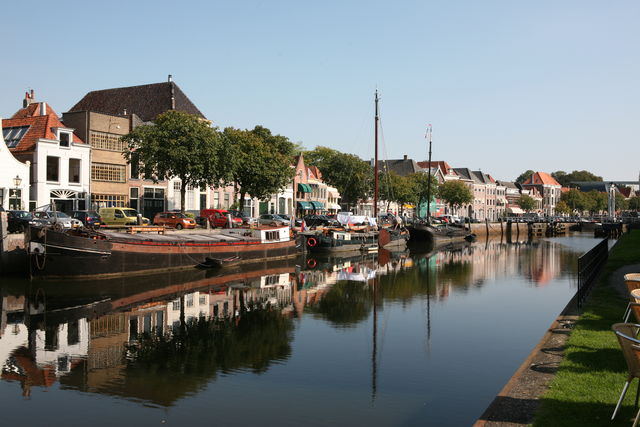 Thorbeckegracht Zwolle Overijssel Nederland