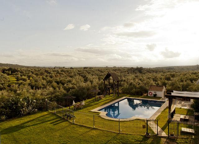 Molino la Nava Montoro zwembad