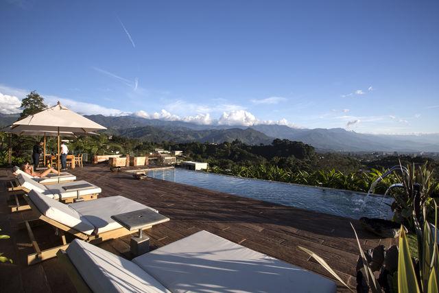 Rondreis Colombia Quindio/Armenia/Bio Habitat boek erbij, zonnetje en klaar