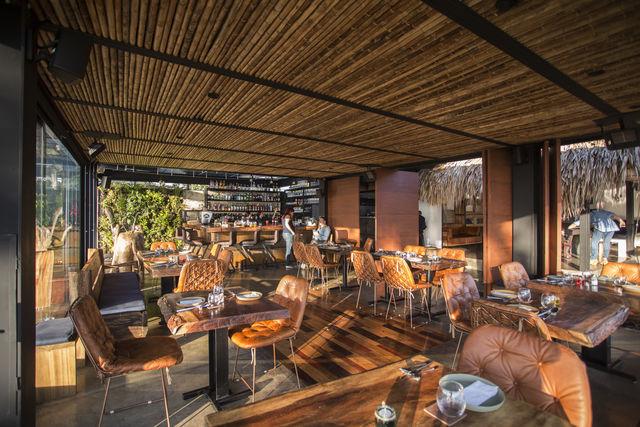 Rondreis Colombia Quindio/Armenia/Bio Habitat ontbijtsetting restaurant