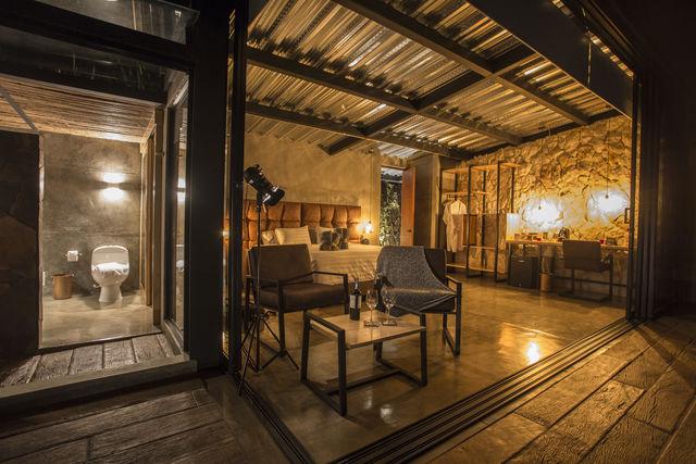 Rondreis Colombia Quindio/Armenia/Bio Habitat voorbeeld slaapkamer