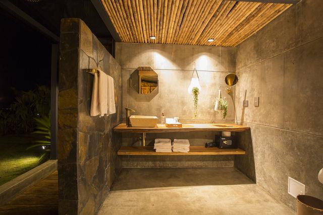 Rondreis Colombia Quindio/Armenia/Bio Habitat voorbeeld badkamer
