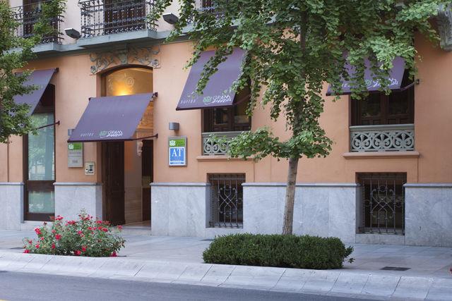 Suites Gran Vía 44 Granada gevel