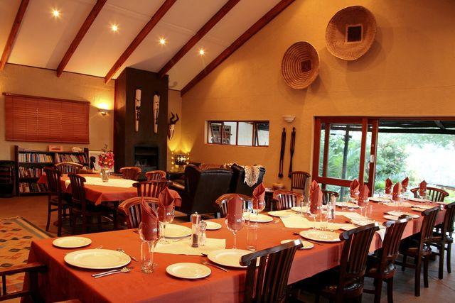 Rondreis Namibie Waterberg Guest Farm restaurant