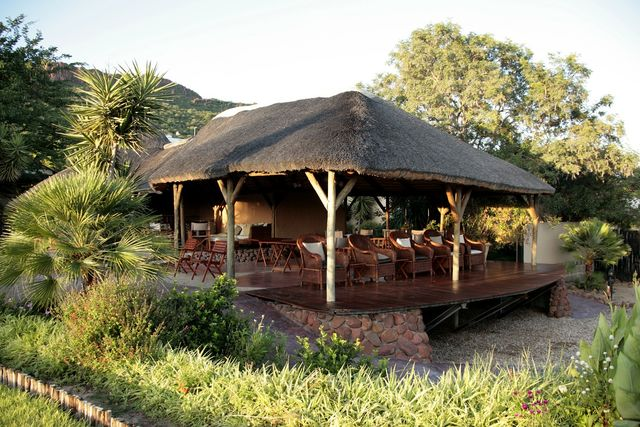 Rondreis Namibie Waterberg Guest Farm lounge