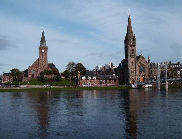 Kerken Inverness Schotland