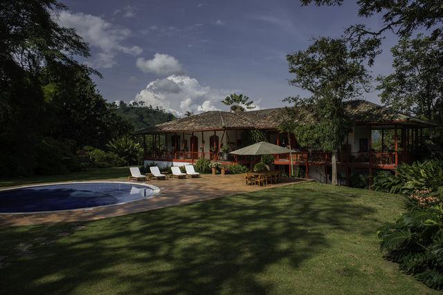 Rondreis Colombia Quindio Manizales Hacienda Venecia het hoofdhuis