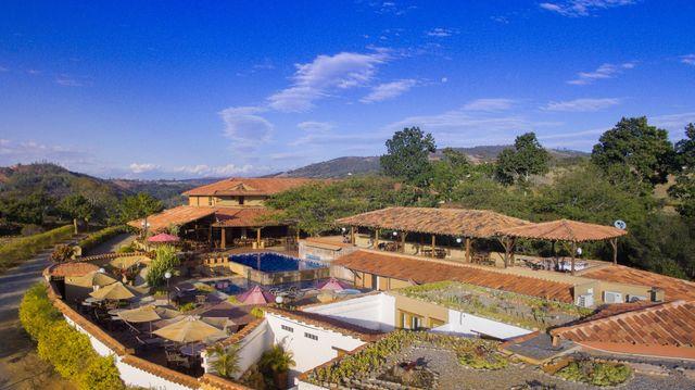 Rondreis Colombia Santander Barichara Terre Barichara overzicht hotel