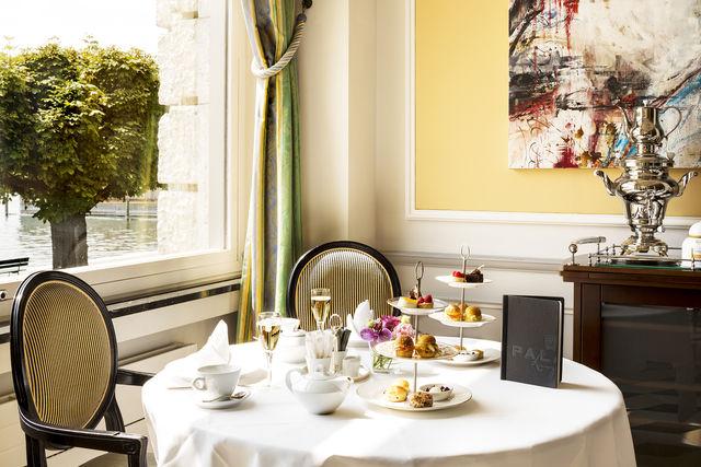 Palace Hotel Luzern restaurant