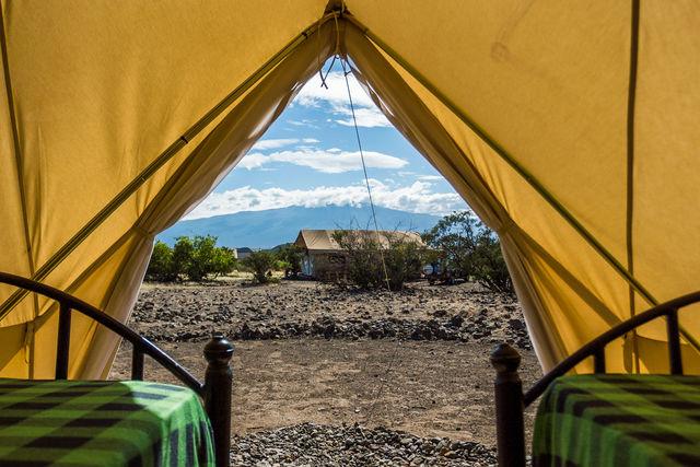 Rondreis Tanzania Lake Natron Bell tent