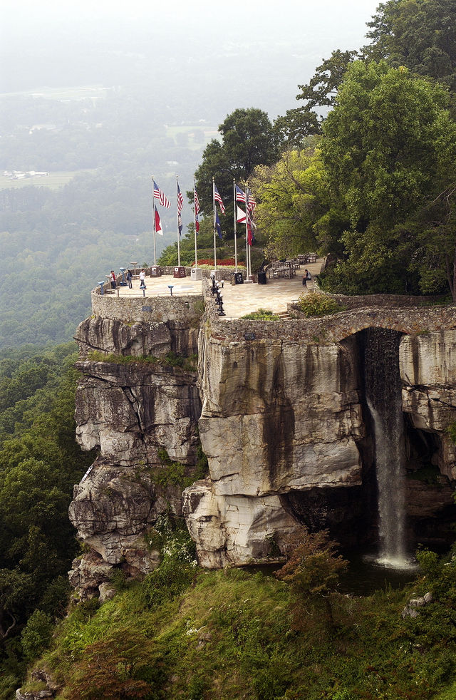 Lookout Mountain Lovers Leap Chattanoogo Tennessee
